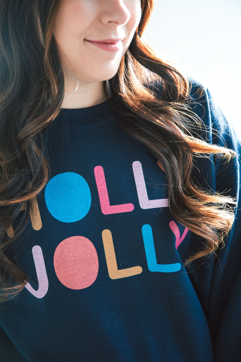 Holly Jolly Sweatshirt - Holiday Special (FINAL SALE)