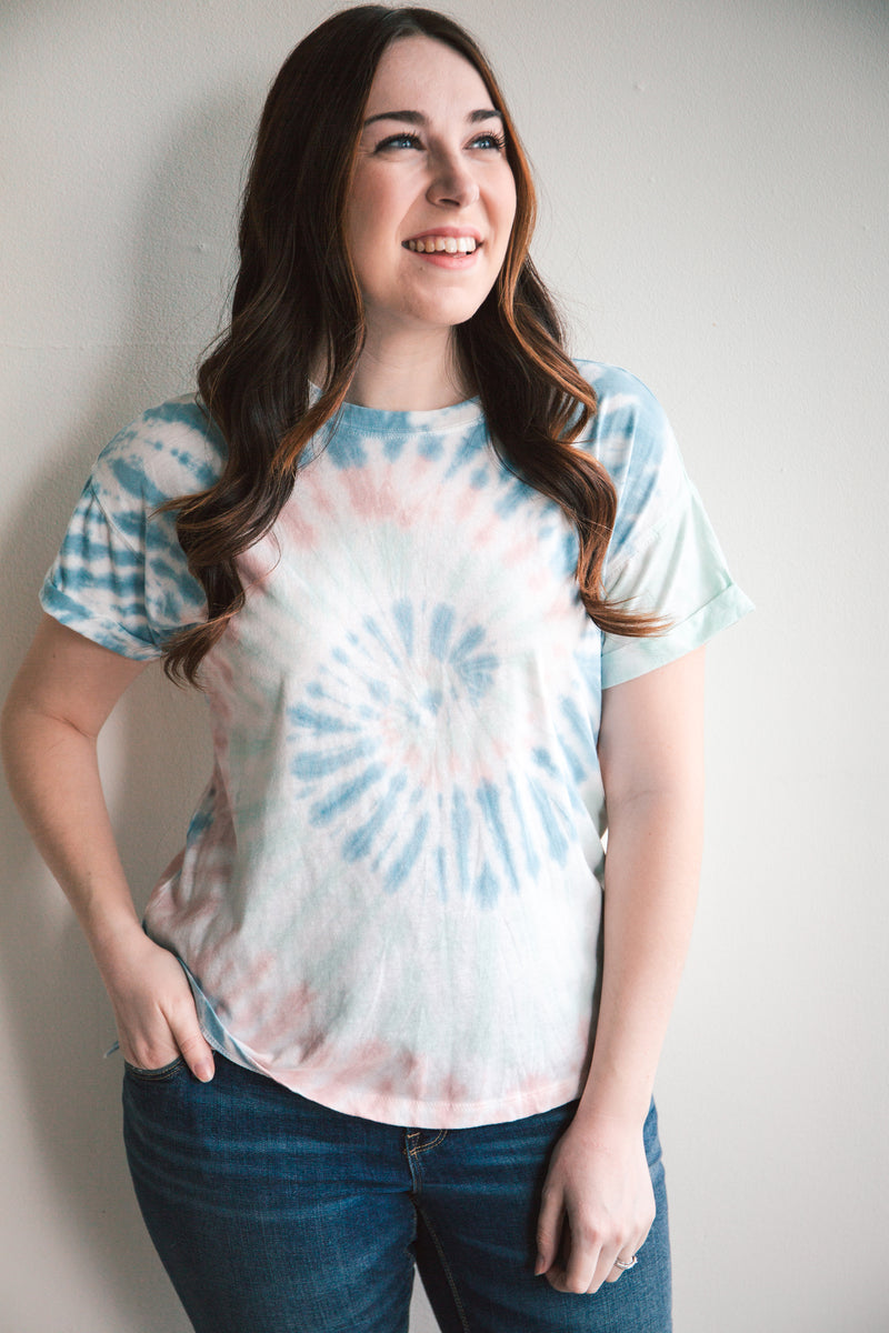 The Multi-Color Tie Dye Tee - Z Supply