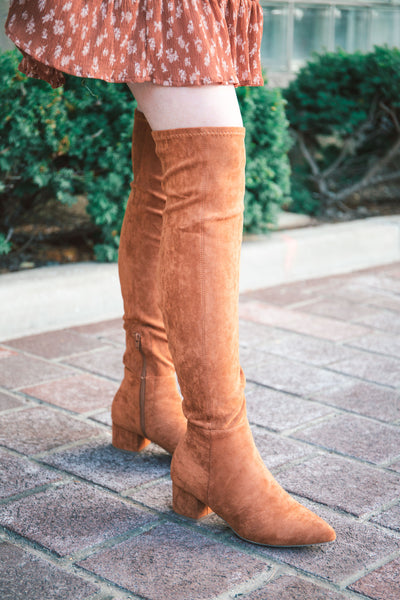 Chloe Over-the-Knee Boots