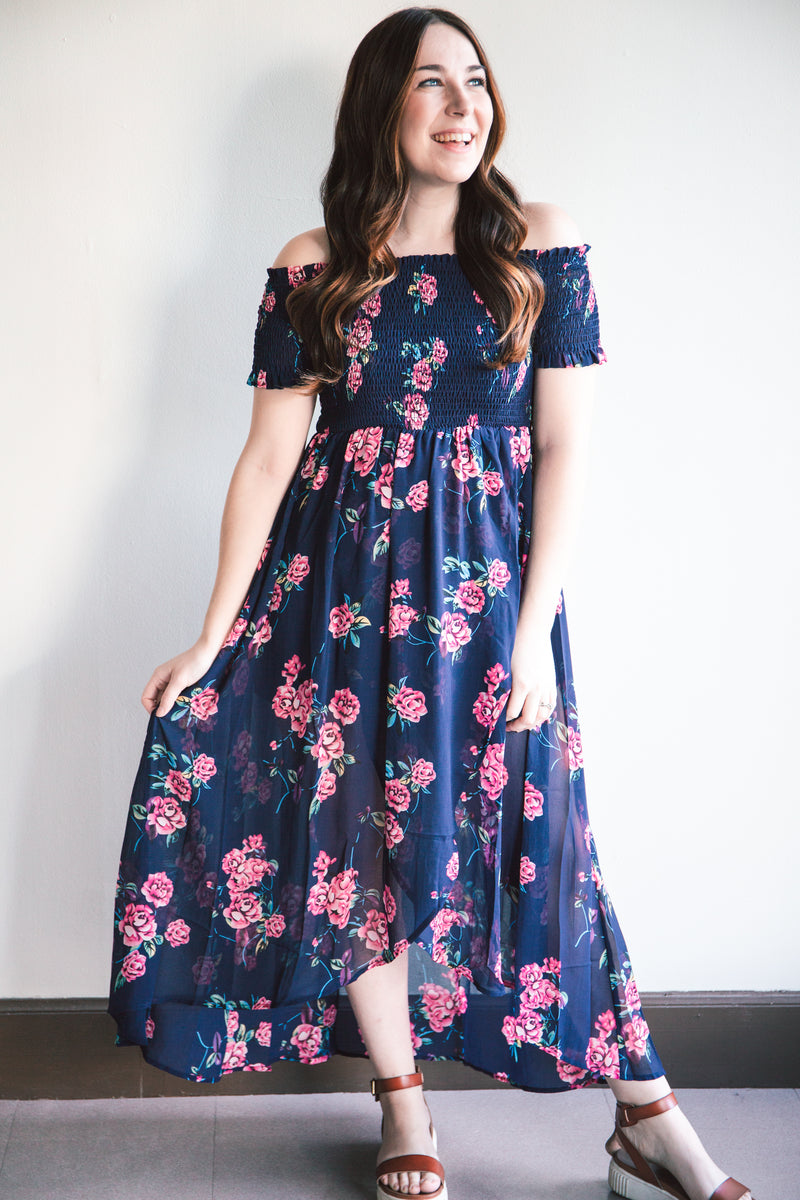 Valentina Floral Midi Dress (FINAL SALE)