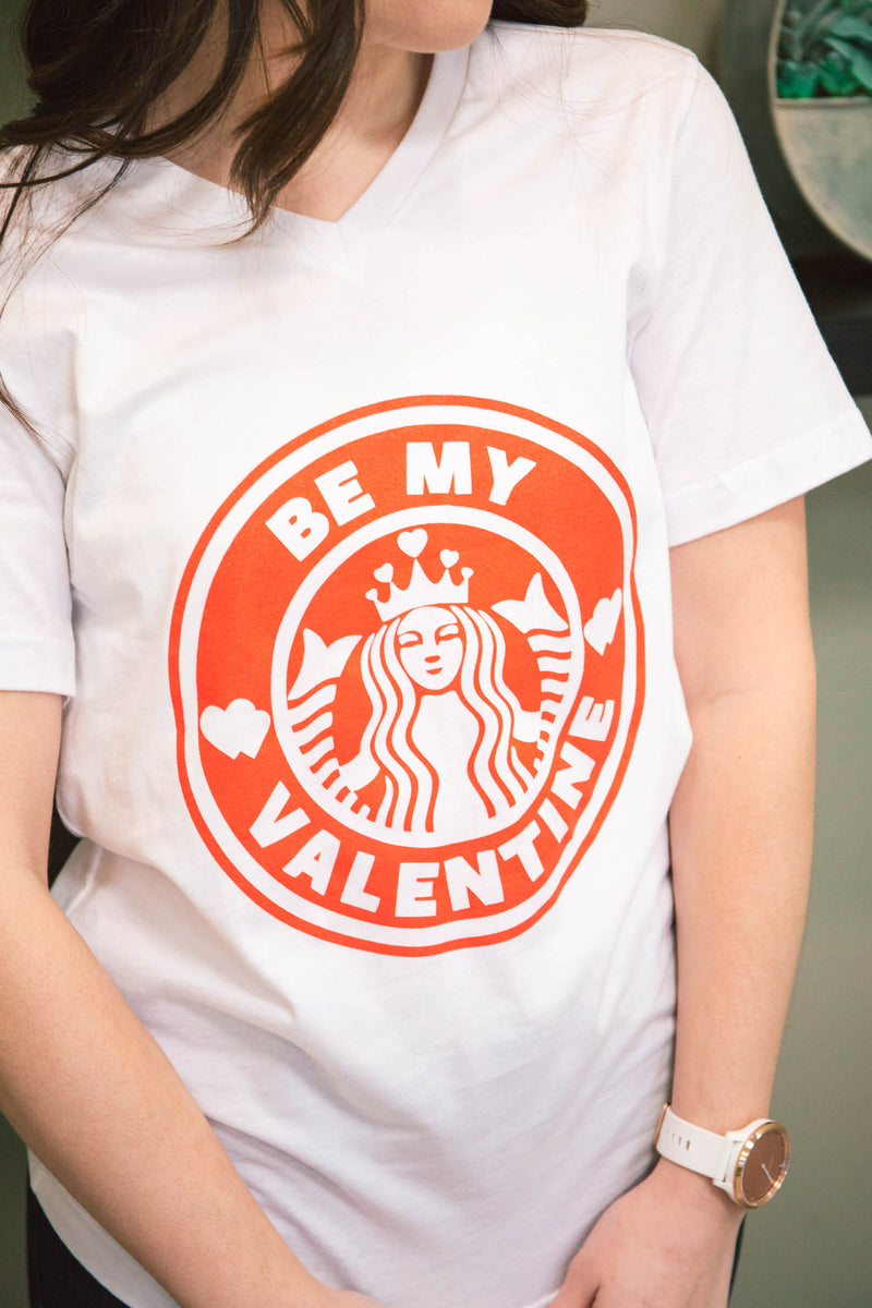 """Be My Valentine"" Graphic Tee (FINAL SALE)"