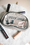 Lipstick Junkie Makeup Bag
