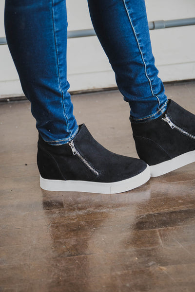 Suzie Sneaker Wedge (FINAL SALE)