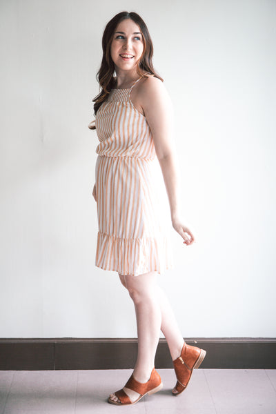 Sunshine Elastic Waist Dress (FINAL SALE)
