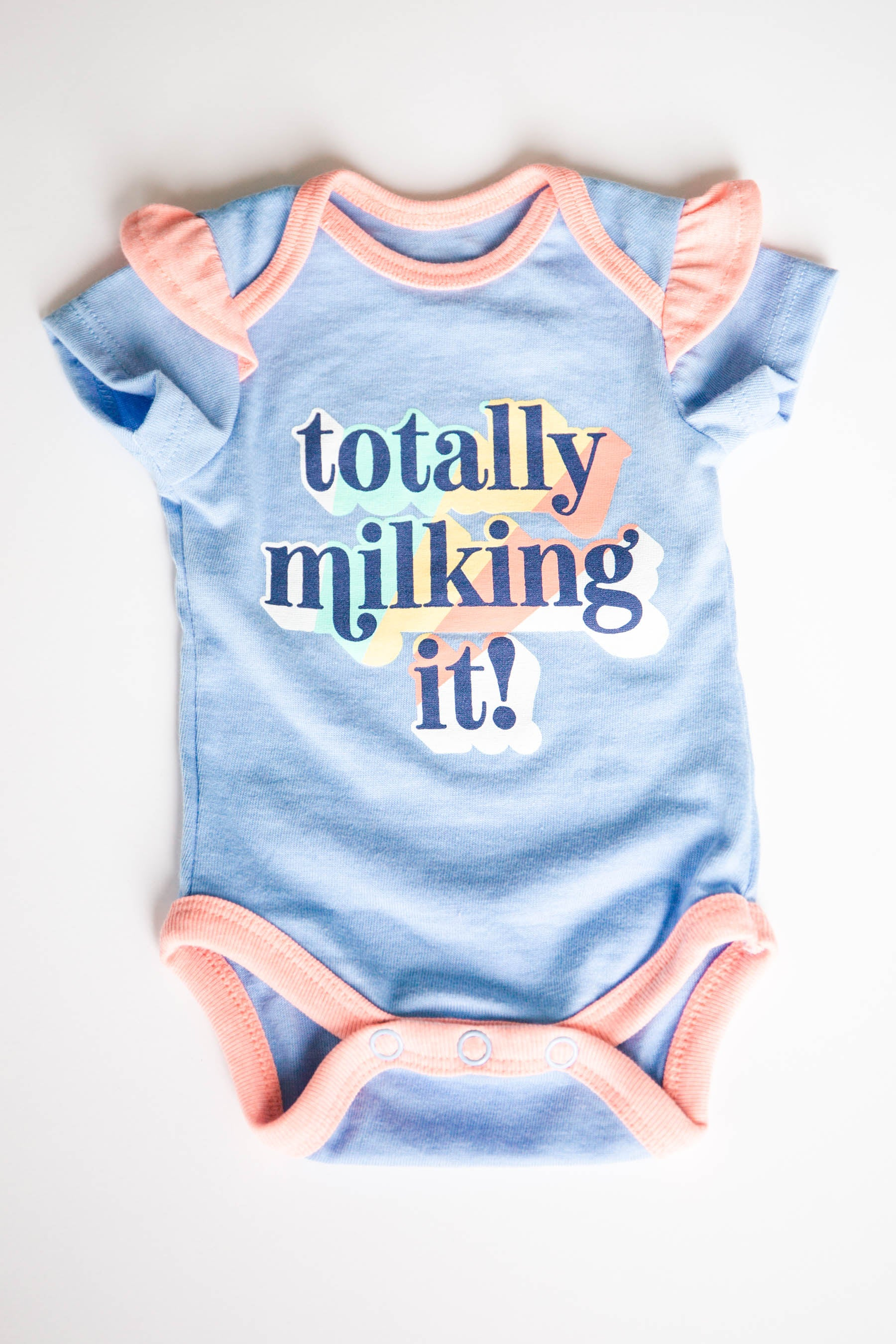 """Totally Milking It"" Onesie (FINAL SALE)"