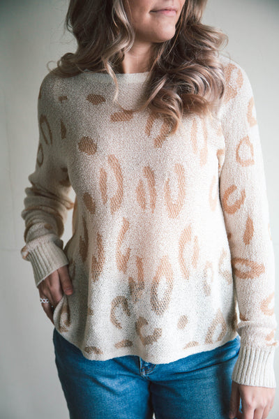 Wylie Leopard Sweater (FINAL SALE)