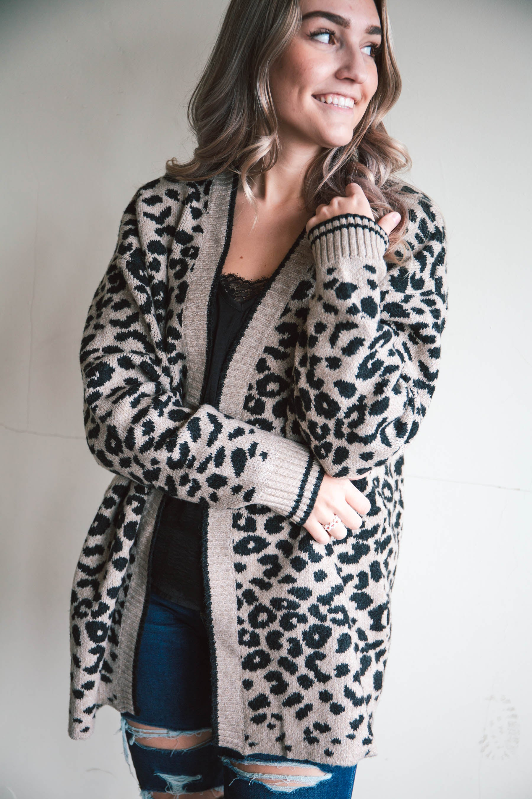 Amelie Oversized Leopard Cardigan (FINAL SALE)