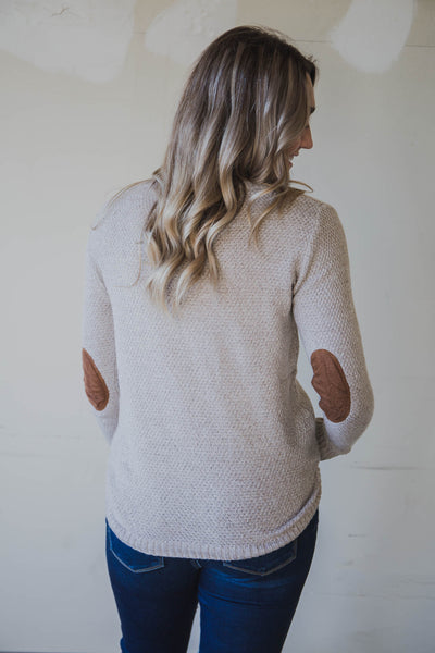 Stella Elbow Patch Pullover