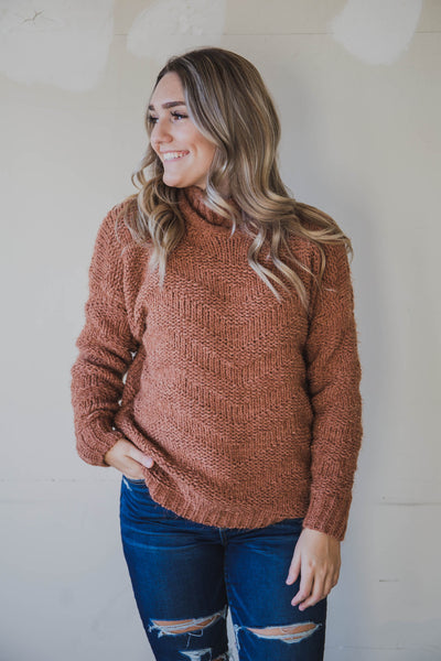 Wendy Chevron Sweater