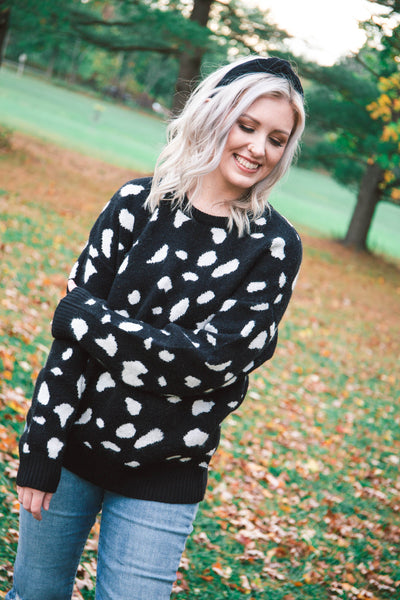 Echo Leopard Sweater
