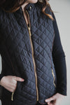 Alice Quilted Padding Vest