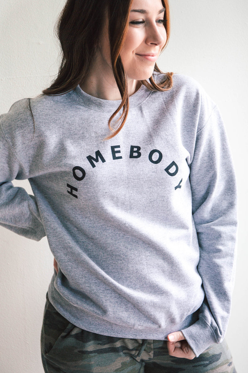 Homebody Graphic Sweatshirt (FINAL SALE)