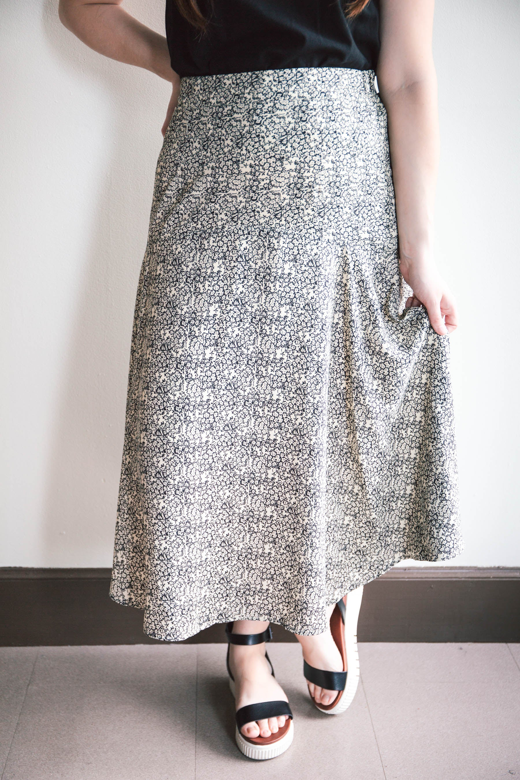 Alexa Floral Skirt (FINAL SALE)
