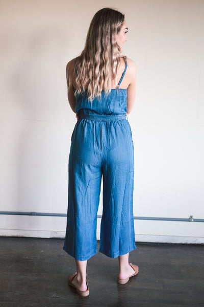 Skylar Denim Jumpsuit (FINAL SALE)