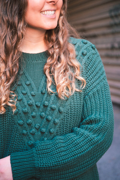 Indy Pom Knit Sweater