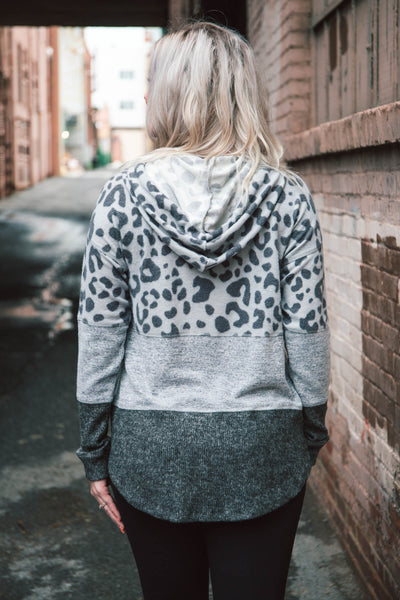 Harmony Soft Spun Leopard Hoodie Pullover