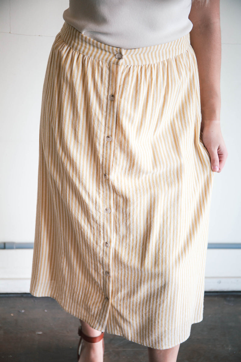 Paige Striped Skirt (FINAL SALE)