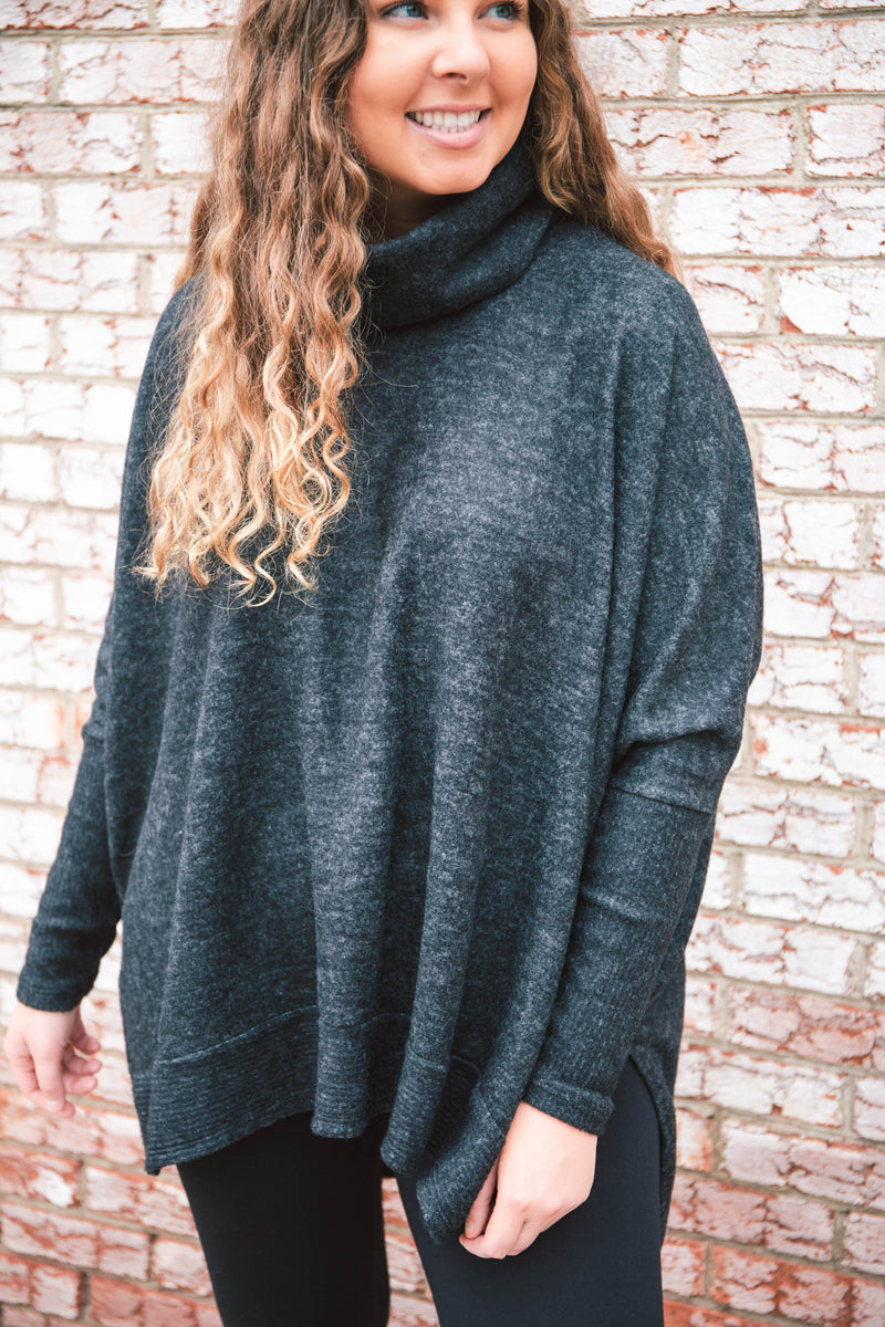 Camille Cowl Neck Tunic