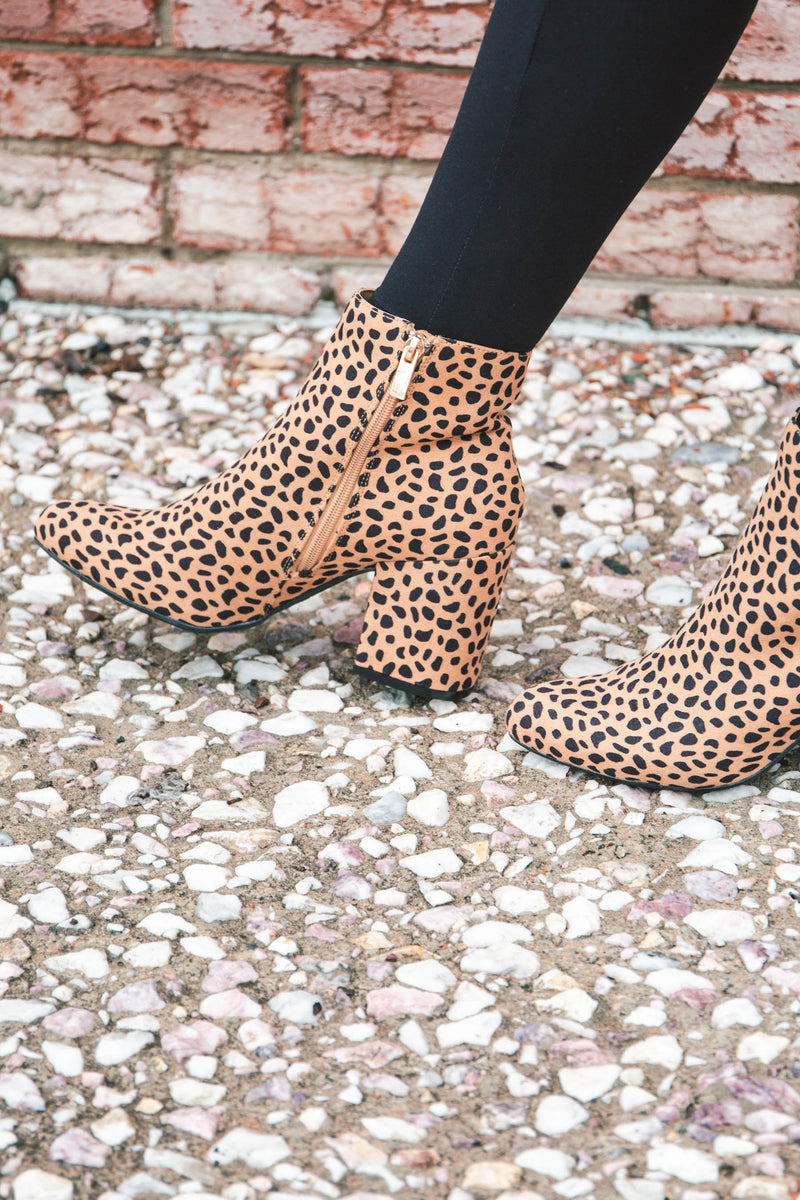 Lydia Cheetah Bootie - BLACK FRIDAY SPECIAL (FINAL SALE)