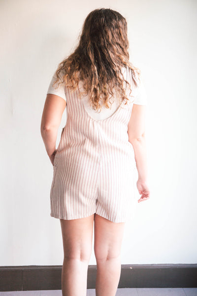 Harper Striped Overalls (FINAL SALE)