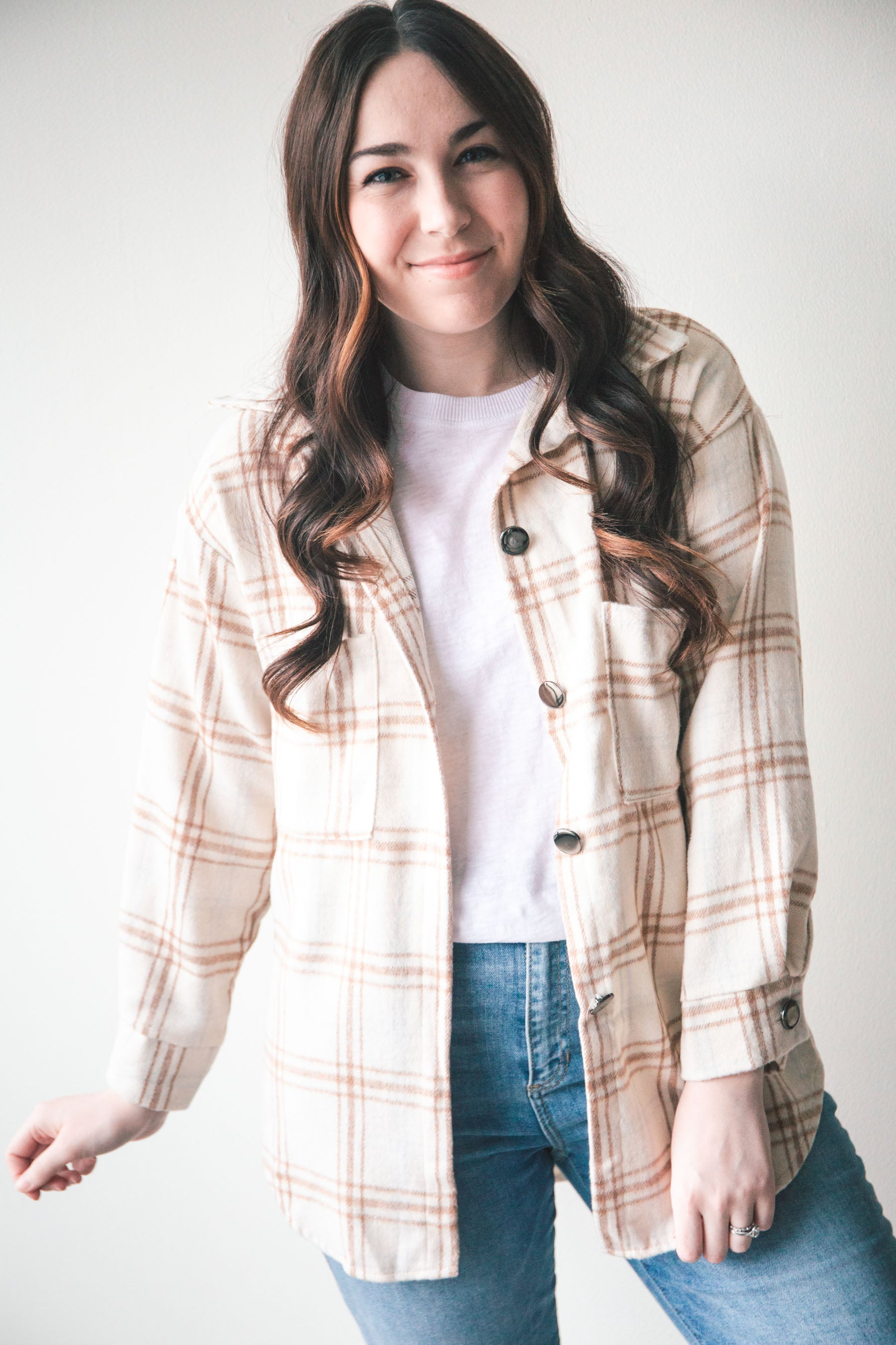 Maya Flannel Shirt Jacket