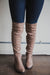 Jones Lace-Up Over-the-Knee Boots (FINAL SALE)
