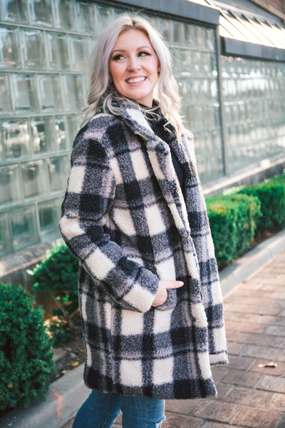 Loyal Plaid Coat