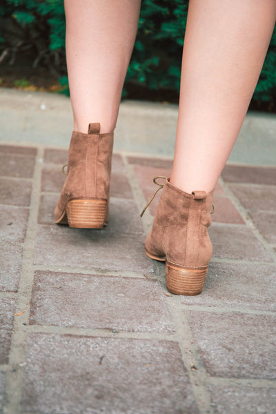 Denver Lace-Up Bootie