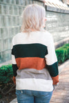 Axel Color Block Sweater