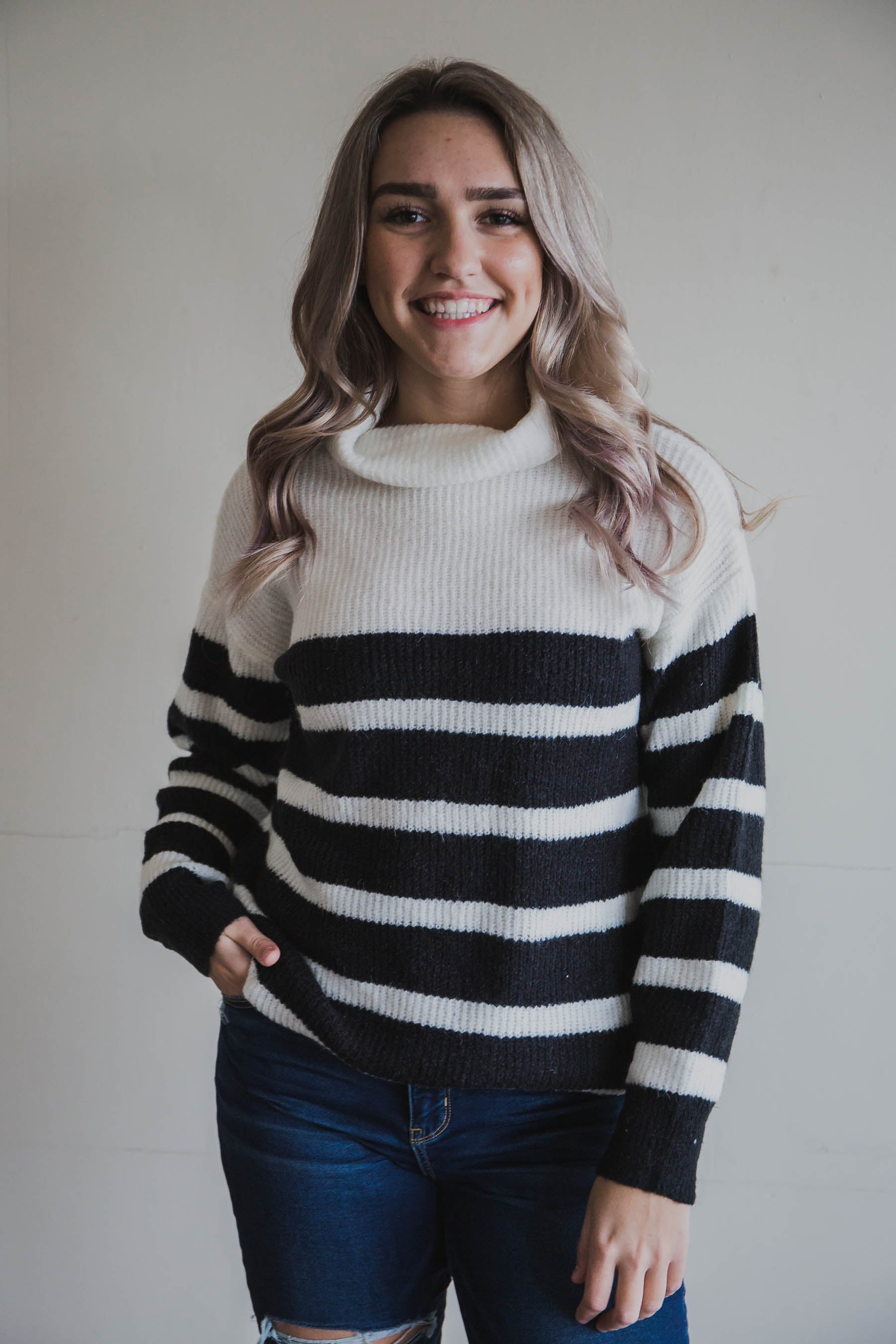 Dani Turtle Neck Sweater