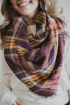 Gretta Blanket Scarf (FINAL SALE)