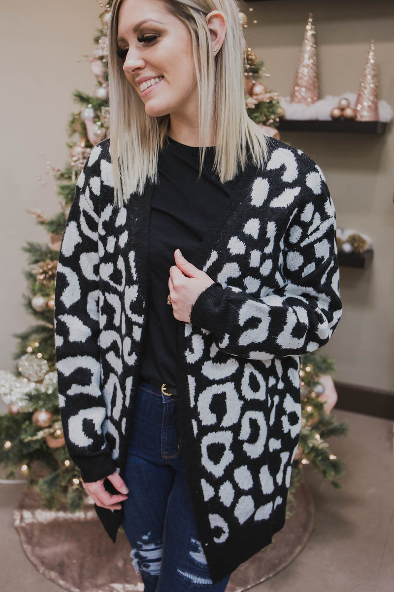 Shelly Leopard Cardigan