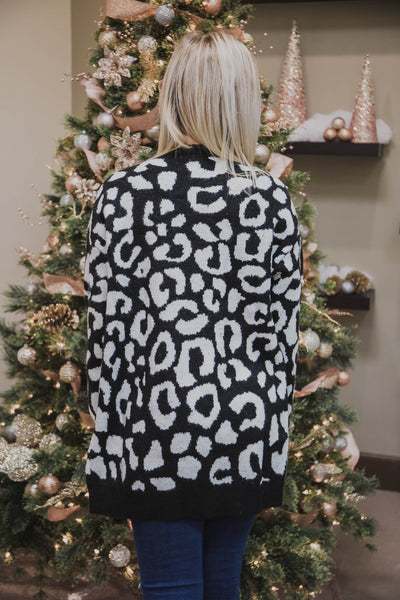 Shelly Leopard Cardigan (FINAL SALE)