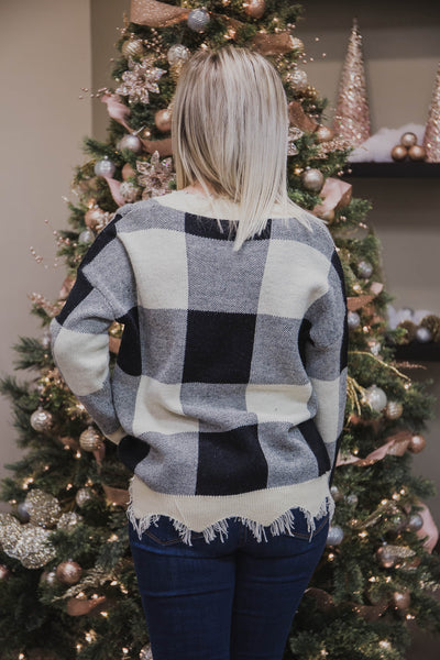 Misty Distressed Sweater (FINAL SALE)