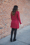 The Premium Fleece Turtle Neck Dress - Z Supply (FINAL SALE)