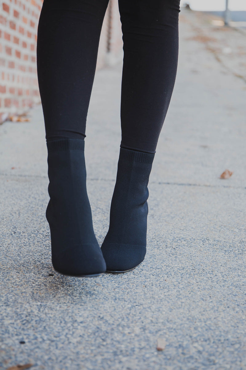 Erika Stretch Booties - MIA