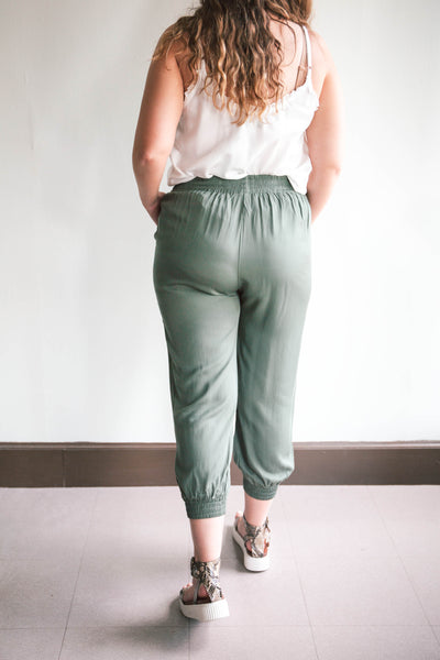Hope Elastic Waist Pants