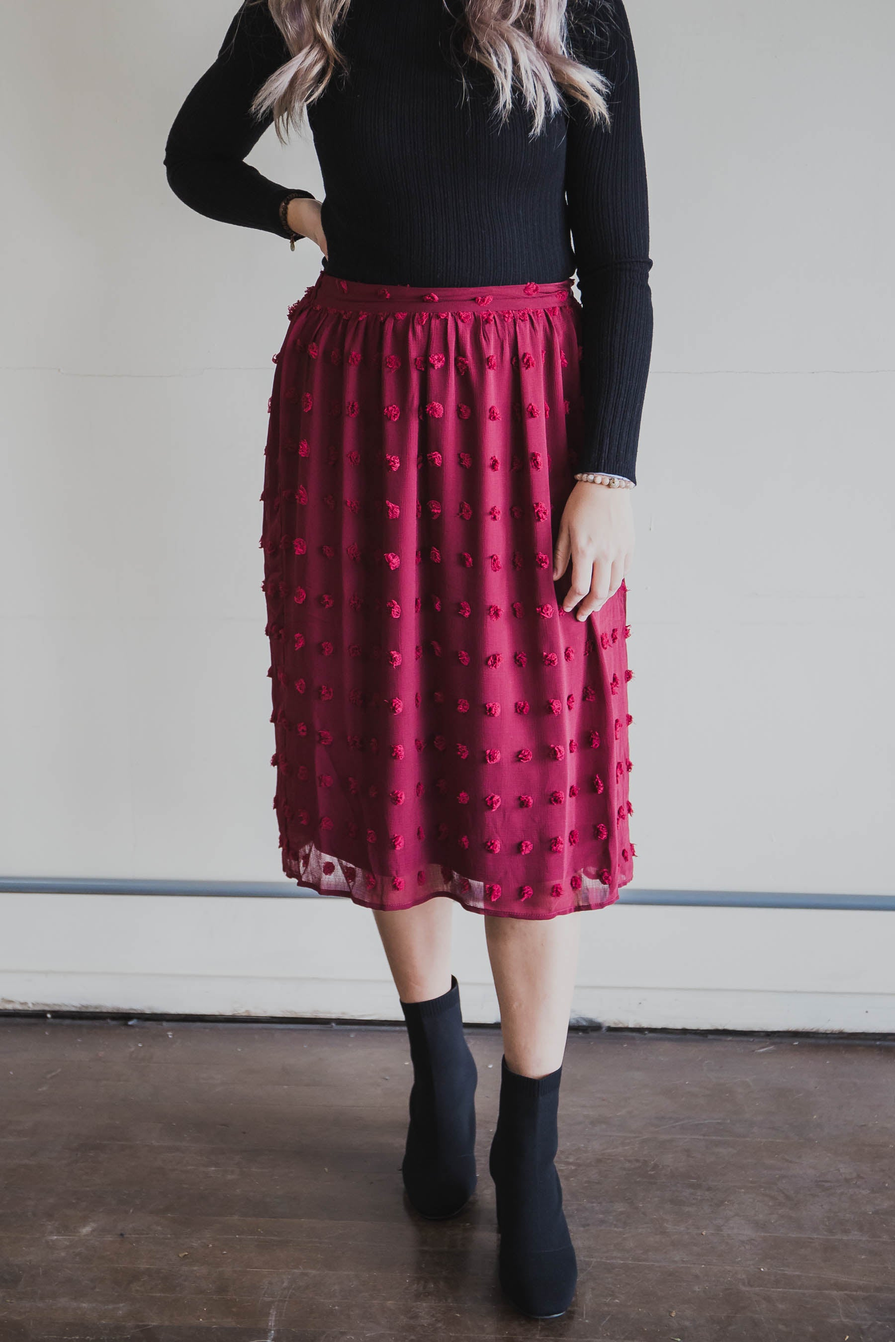 Penny Midi Skirt (FINAL SALE)