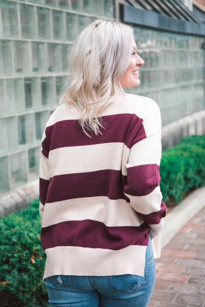 Spencer Rugby Striped Sweater