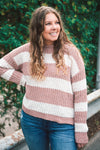 Parker Striped Knit Sweater