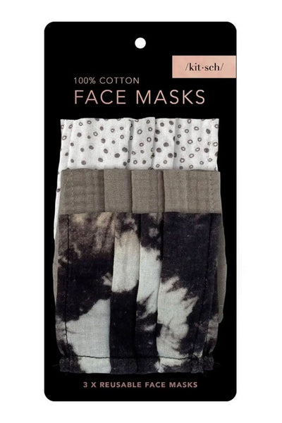 Cotton Masks - Pack of 3