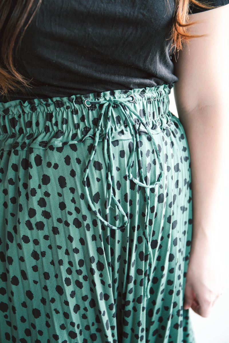 Gabriela Leopard Skirt (FINAL SALE)