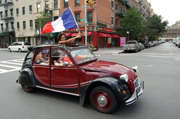 Une Citroen à Manhattan...