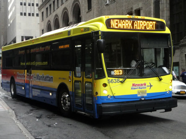 newark bus pas cher newark