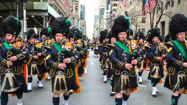 saint patrick day new york parade français tour