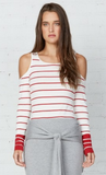 BAILEY 44 Harbor Master Cold Shoulder Top