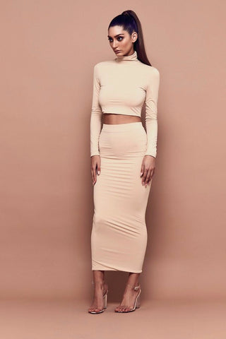 Bossa Contour High-Neck Crop