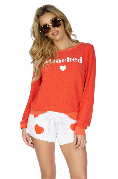 WILDFOX Attached Sweater