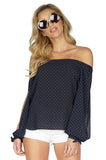 BAILEY 44 Tail Wind Off Shoulder Top