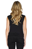 GENERATION LOVE Keyhole Sleeveless Top back